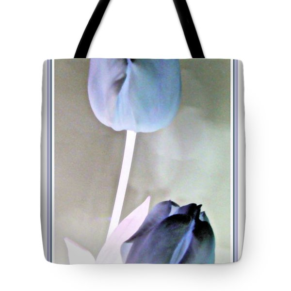 Lavender Tulips Tote Bag by Danielle  Parent