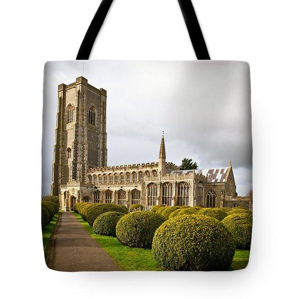 Lavenham Church Tote Bag by Tom Gowanlock