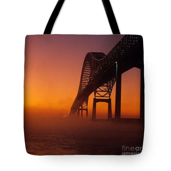 Laviolette Bridge Tote Bag by Publiphoto