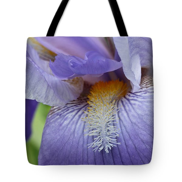 Tote Bag featuring the photograph Lavish Iris by Julie Andel