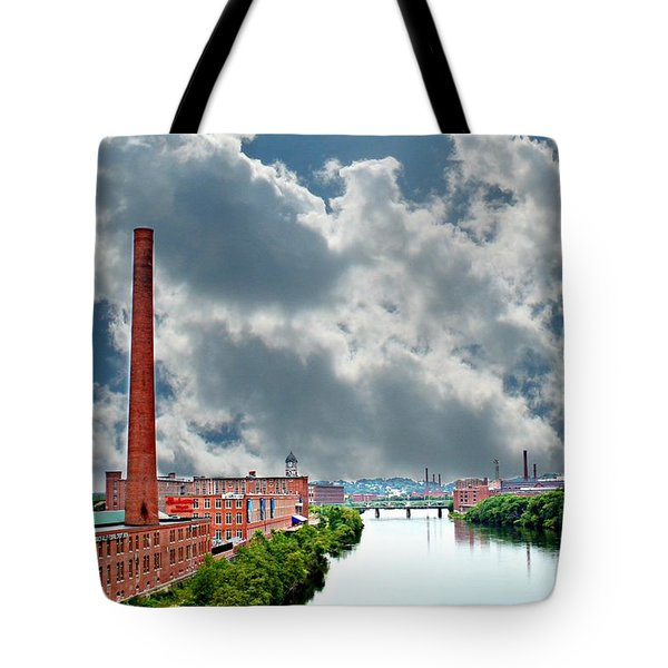 Lawrence Ma Skyline Tote Bag