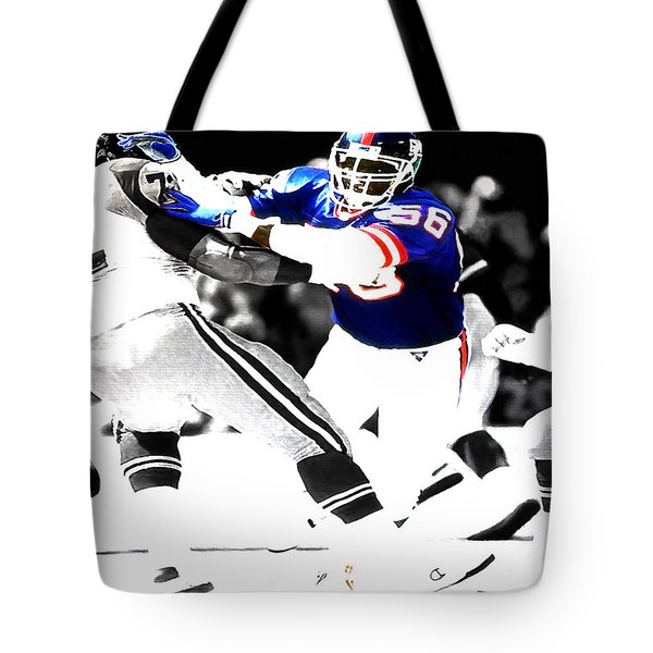 Lawrence Taylor Out Of My Way Tote Bag