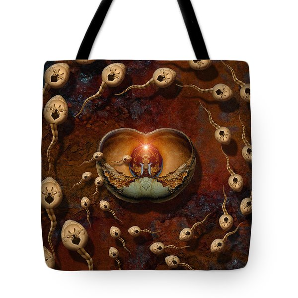Laws Of Attraction 2 Tote Bag by WB Johnston