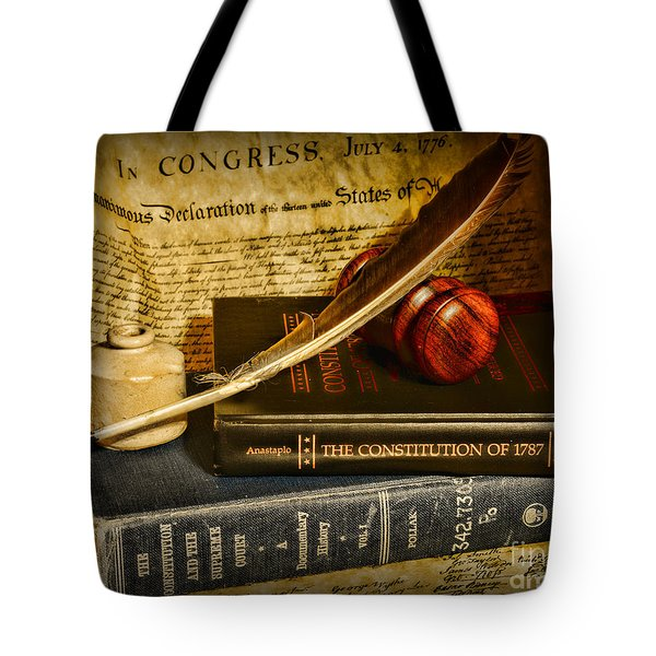 Lawyer - The Constitutional Lawyer Tote Bag