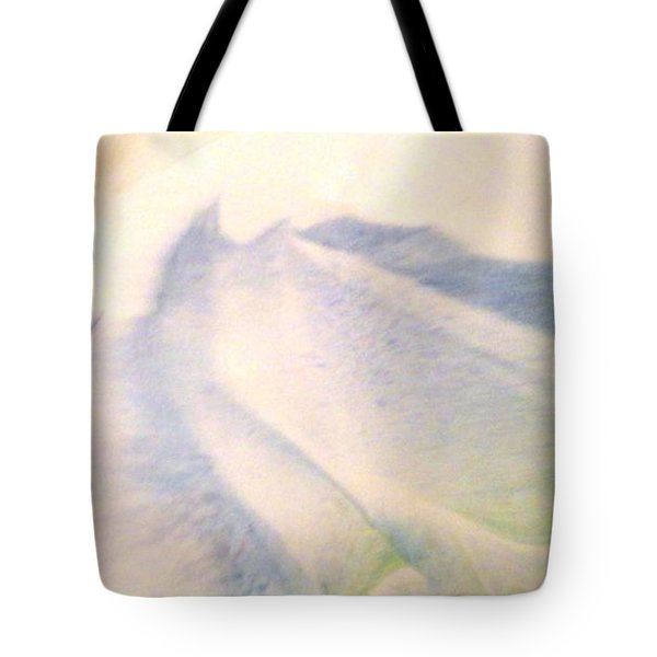 Tote Bag featuring the painting Lay Of The Land by Mike Breau