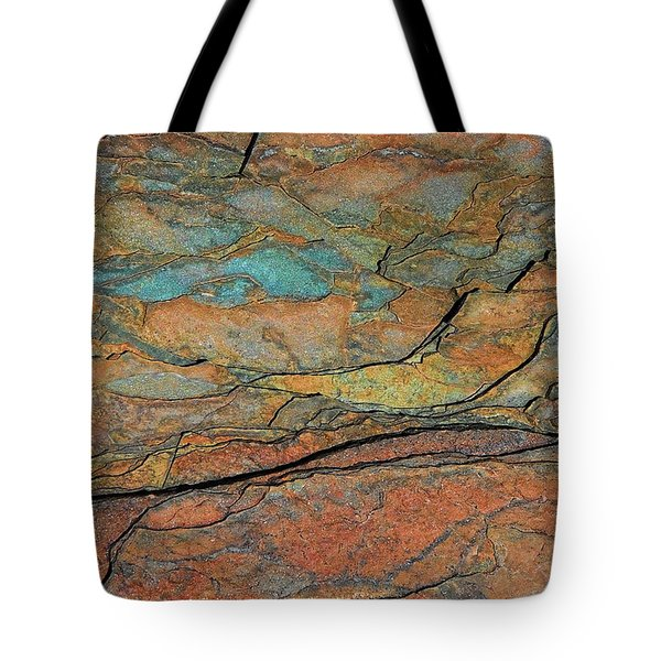 Tote Bag featuring the photograph Layered by Britt Runyon