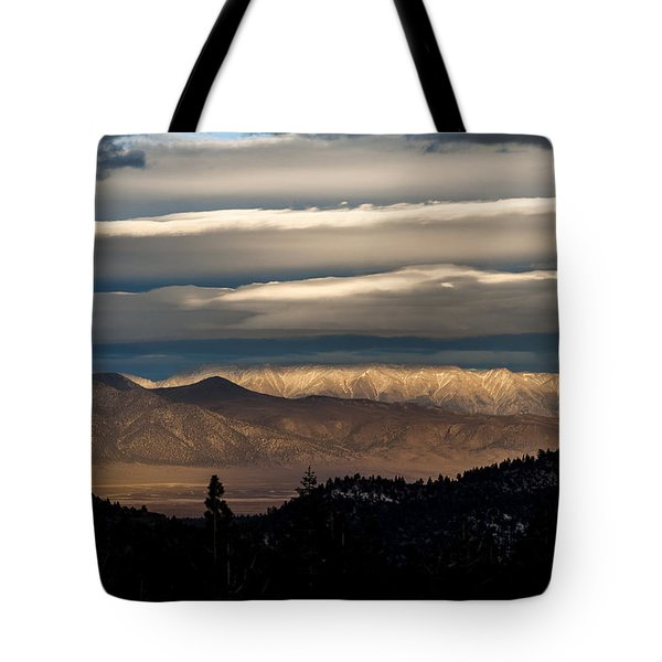 Layers Tote Bag by Cat Connor