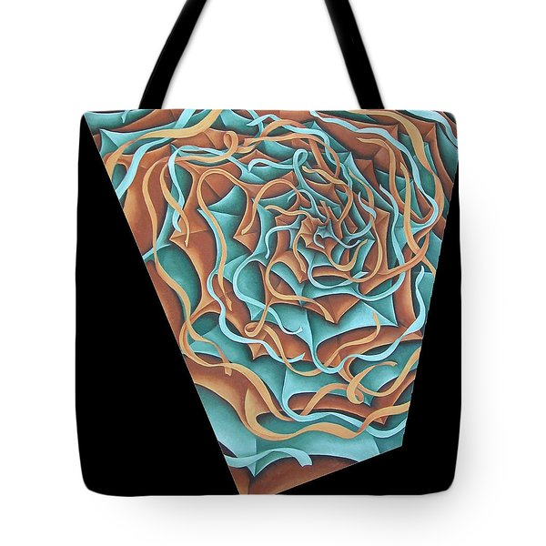 Layers Clvii Tote Bag