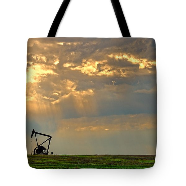 Layers Of Energy Tote Bag by Tony Beck