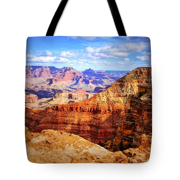 Layers Of The Canyon Tote Bag