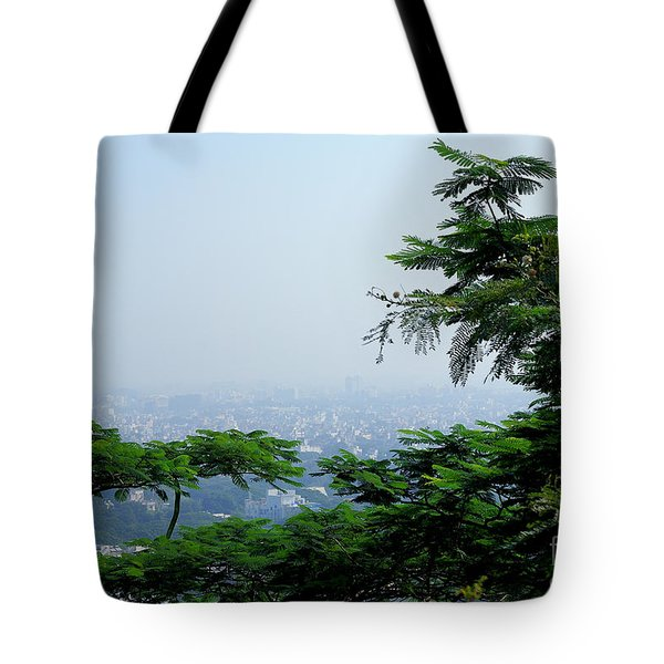 Layers Of Tree Tote Bag