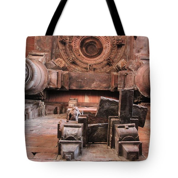 Laying On The Ground And Look Up Tote Bag by Four Hands Art