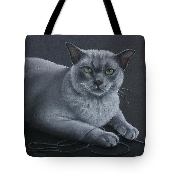 Tote Bag featuring the pastel Layla by Cynthia House