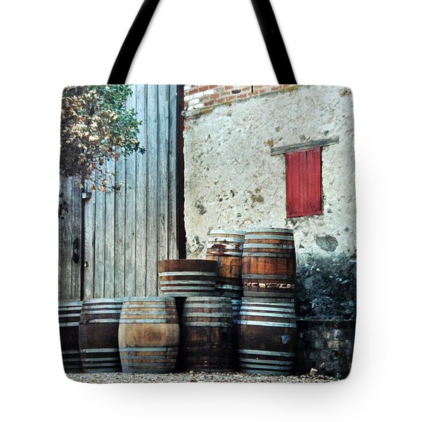 Tote Bag featuring the photograph Lazy Afternoon At The Winery by Diane Alexander