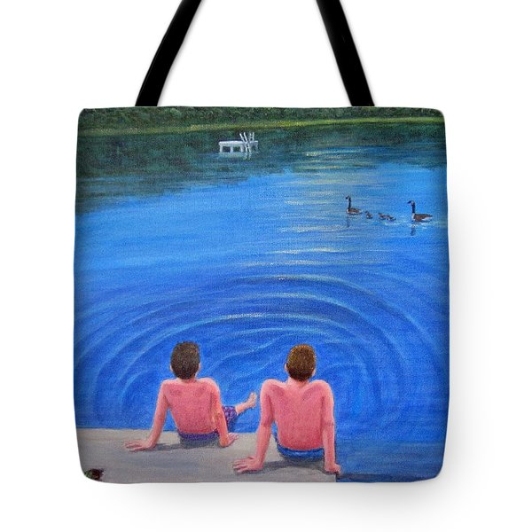 Lazy Days Tote Bag