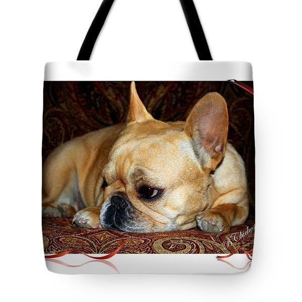Tote Bag featuring the photograph Lazy Paisley Afternoon by Barbara Chichester