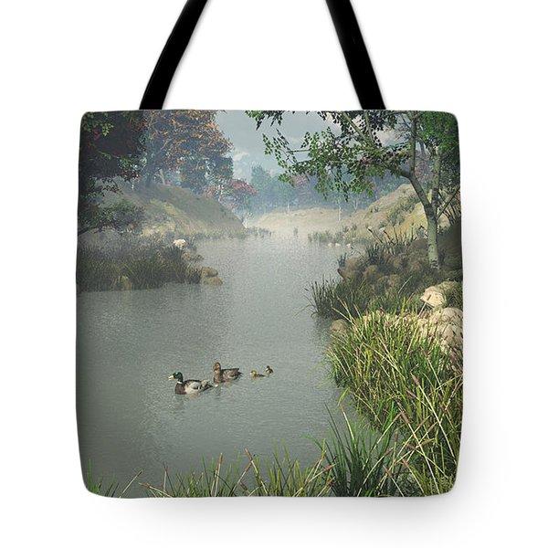 Lazy River Tote Bag