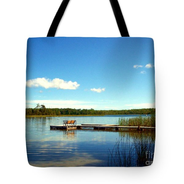 Lazy Summer Day Tote Bag by Desiree Paquette