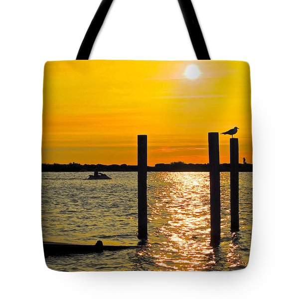 Lazy Summer Day Tote Bag by Frozen in Time Fine Art Photography