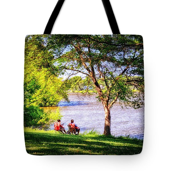 Lazy Sunday Tote Bag