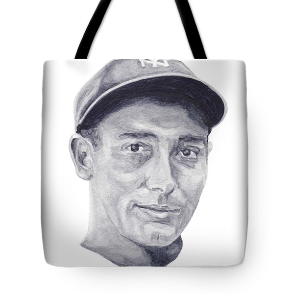 Tote Bag featuring the painting Lazzeri by Tamir Barkan