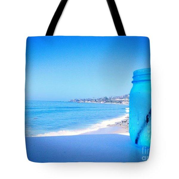 Le Bleu Tote Bag