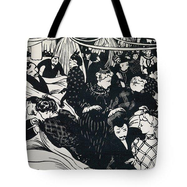 Le Bon Marche Tote Bag