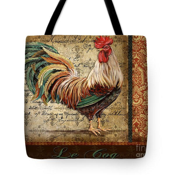 Le Coq-g Tote Bag by Jean Plout