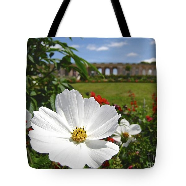 Tote Bag featuring the photograph Le Fleur De Versailles by Suzanne Oesterling