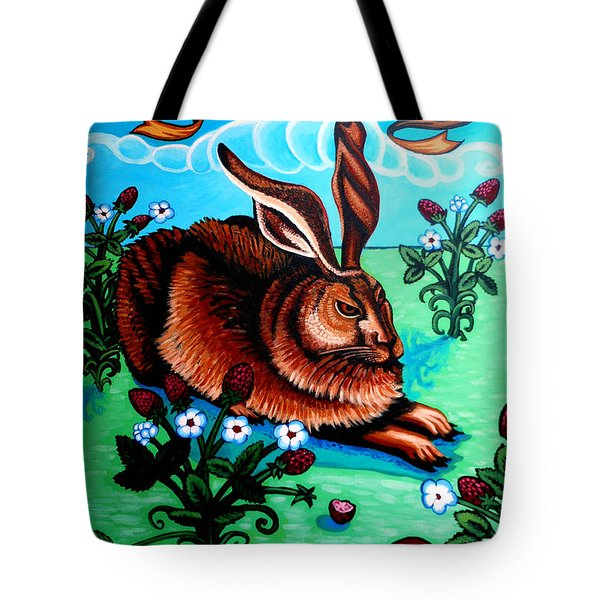Le Grand Lapin Anarchie Tote Bag by Genevieve Esson