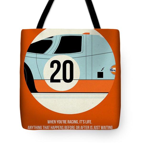 Le Mans Poster Tote Bag