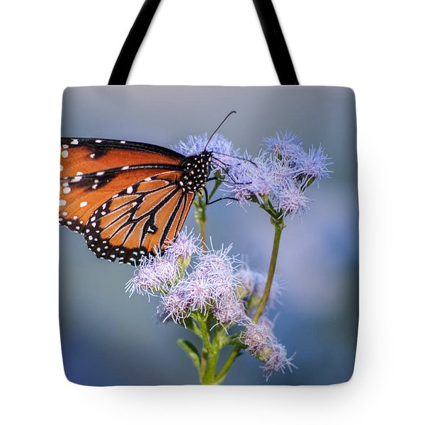 8x10 Metal - Queen Butterfly Tote Bag