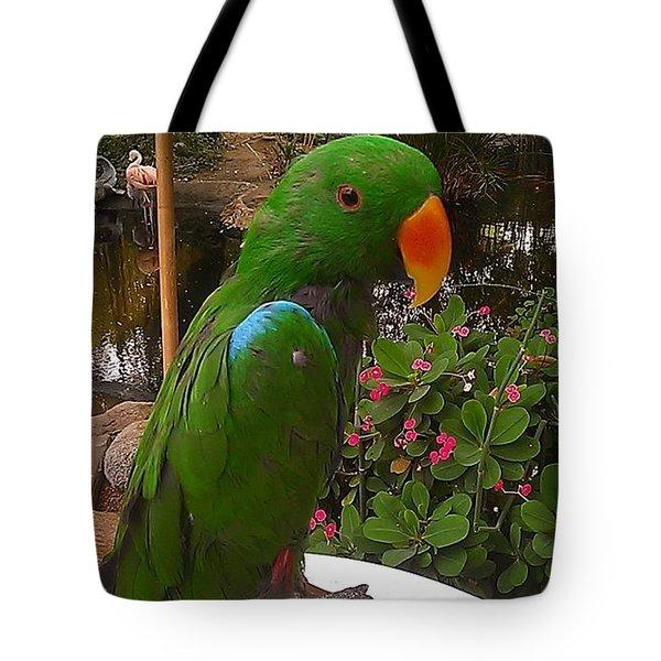 Le Parrot Tote Bag