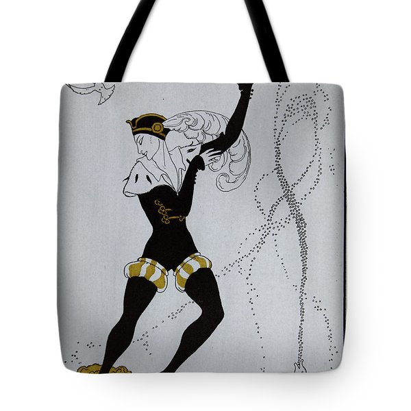 Le Pavillion D'armider Tote Bag by Georges Barbier