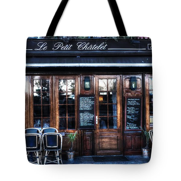 Le Petit Chatelet Paris France Tote Bag