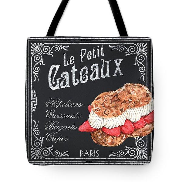 Le Petit Gateaux Tote Bag