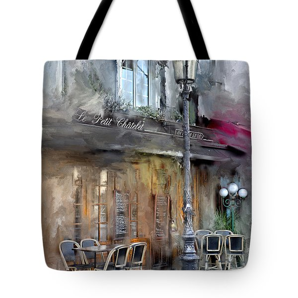 Le Petit Paris Tote Bag