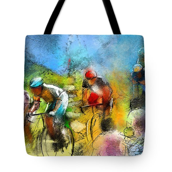 Le Tour De France 01 Tote Bag by Miki De Goodaboom