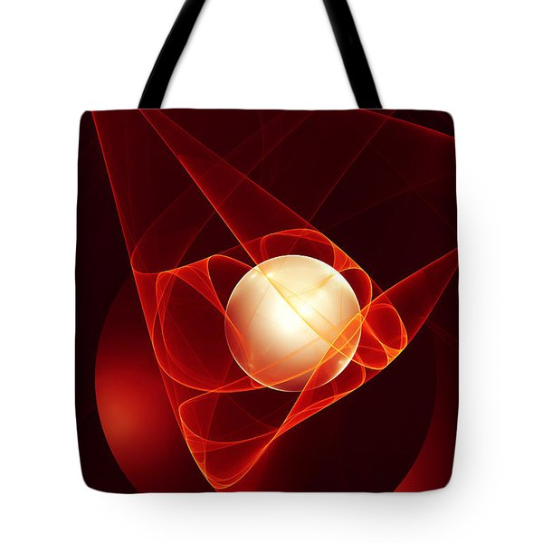 Tote Bag featuring the digital art Lead Me Into Temptation by Gabiw Art