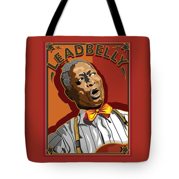 Leadbelly Delta Blues Tote Bag by Larry Butterworth