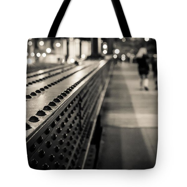 Leading Across Tote Bag