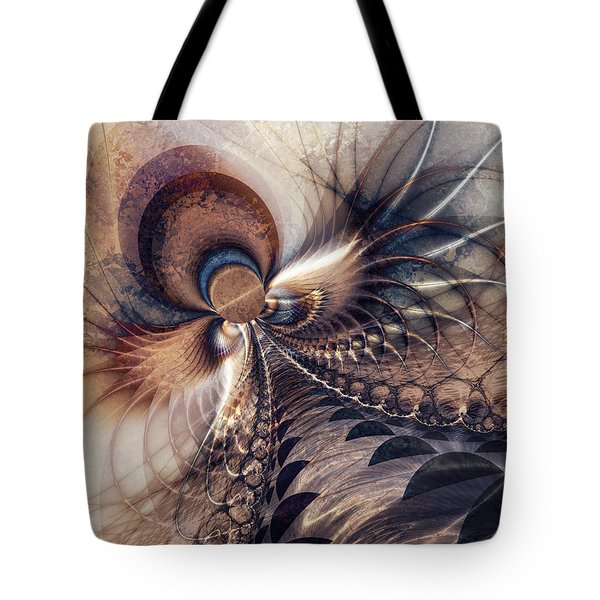 Tote Bag featuring the digital art Leading The Way by Kim Redd