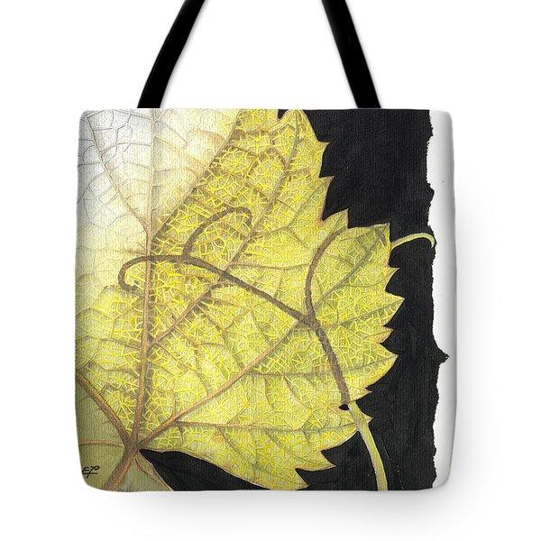 Leaf Tote Bag by Elena Yakubovich