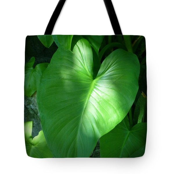 Leaf Heart Tote Bag