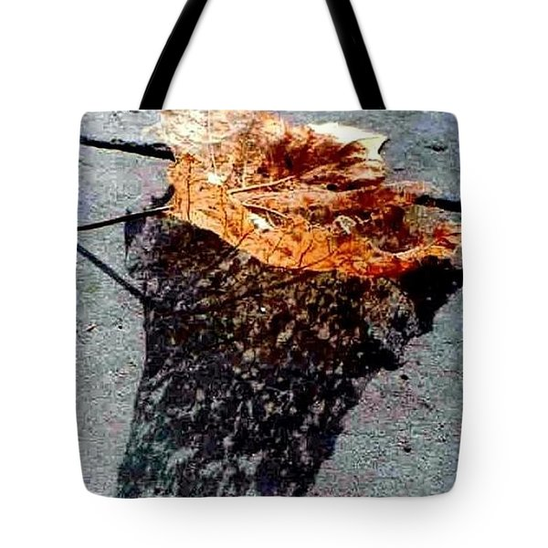Tote Bag featuring the photograph Leaf Lace In New Orleans Louisiana by Michael Hoard