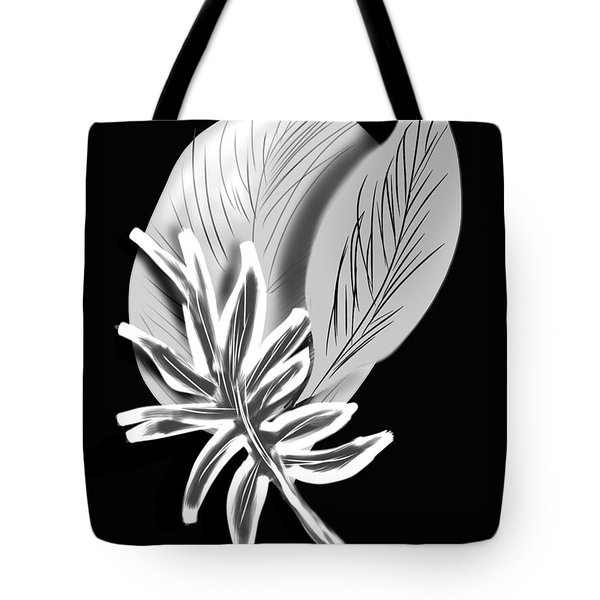 Leaf Ray Tote Bag