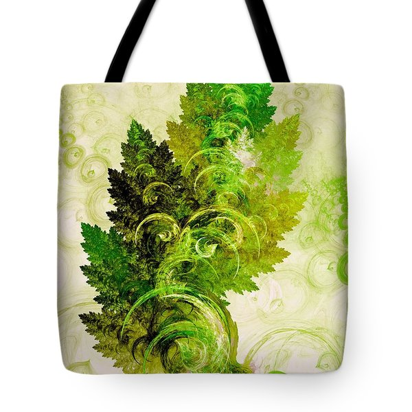 Leaf Reflection Tote Bag
