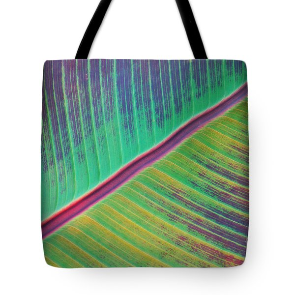 Leaf Structure Tote Bag