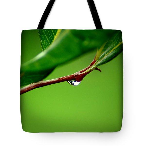 Leafdrop Tote Bag
