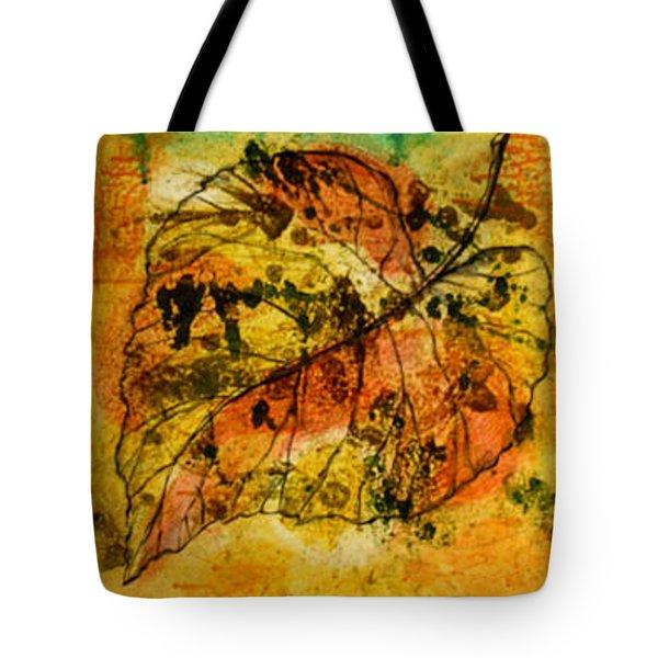 Leafs Tote Bag by Leon Zernitsky